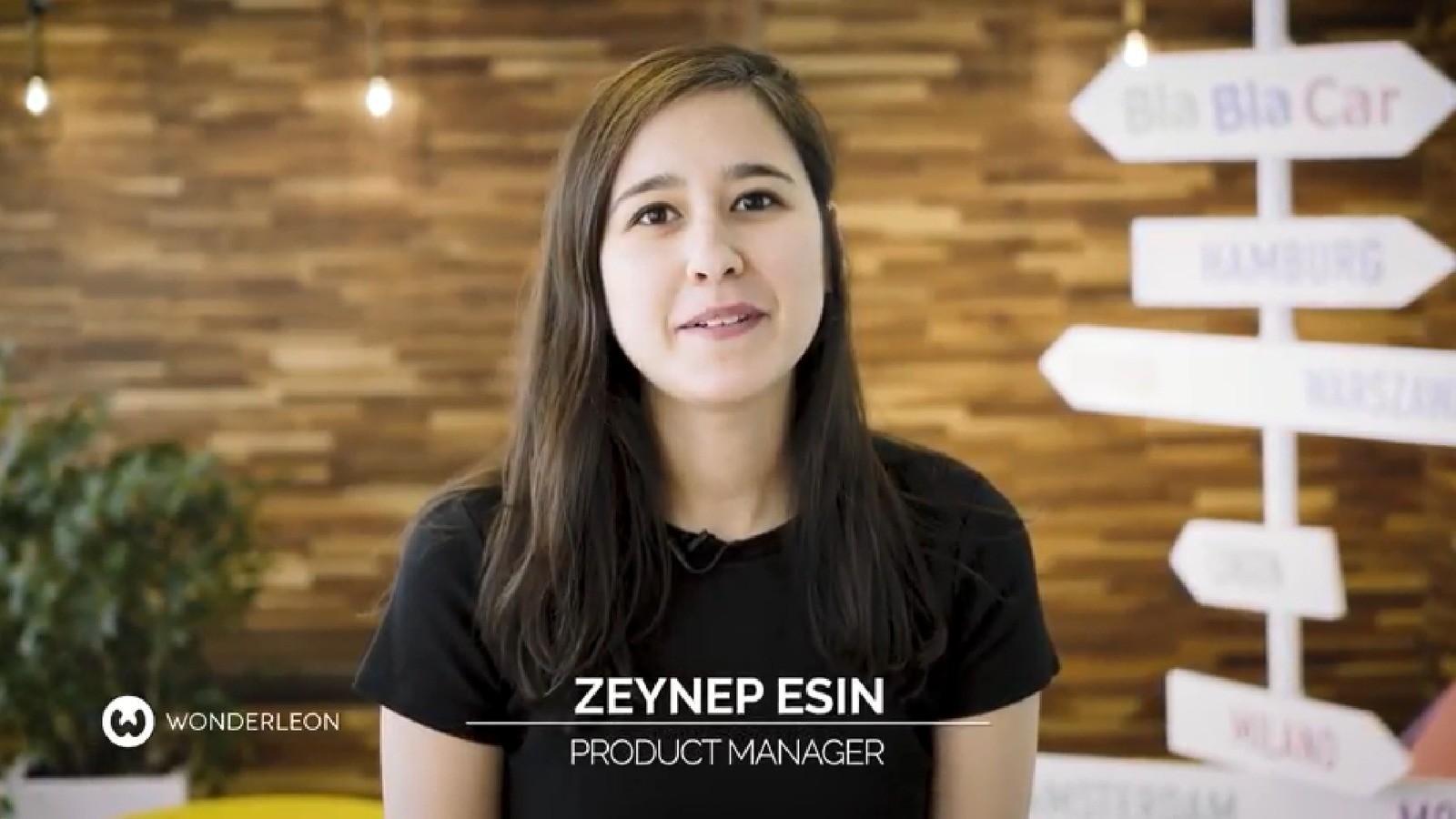 Zeynep, Product Manager @BlaBlaCar