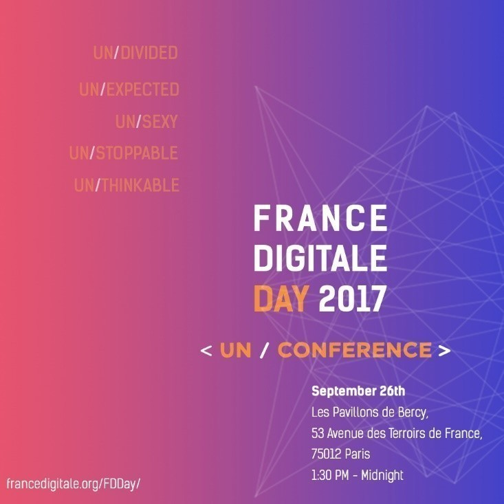 Hot spot in September: The France Digitale Day!