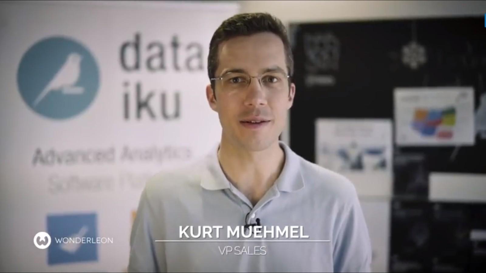 Kurt, VP Sales EMEA @Dataiku