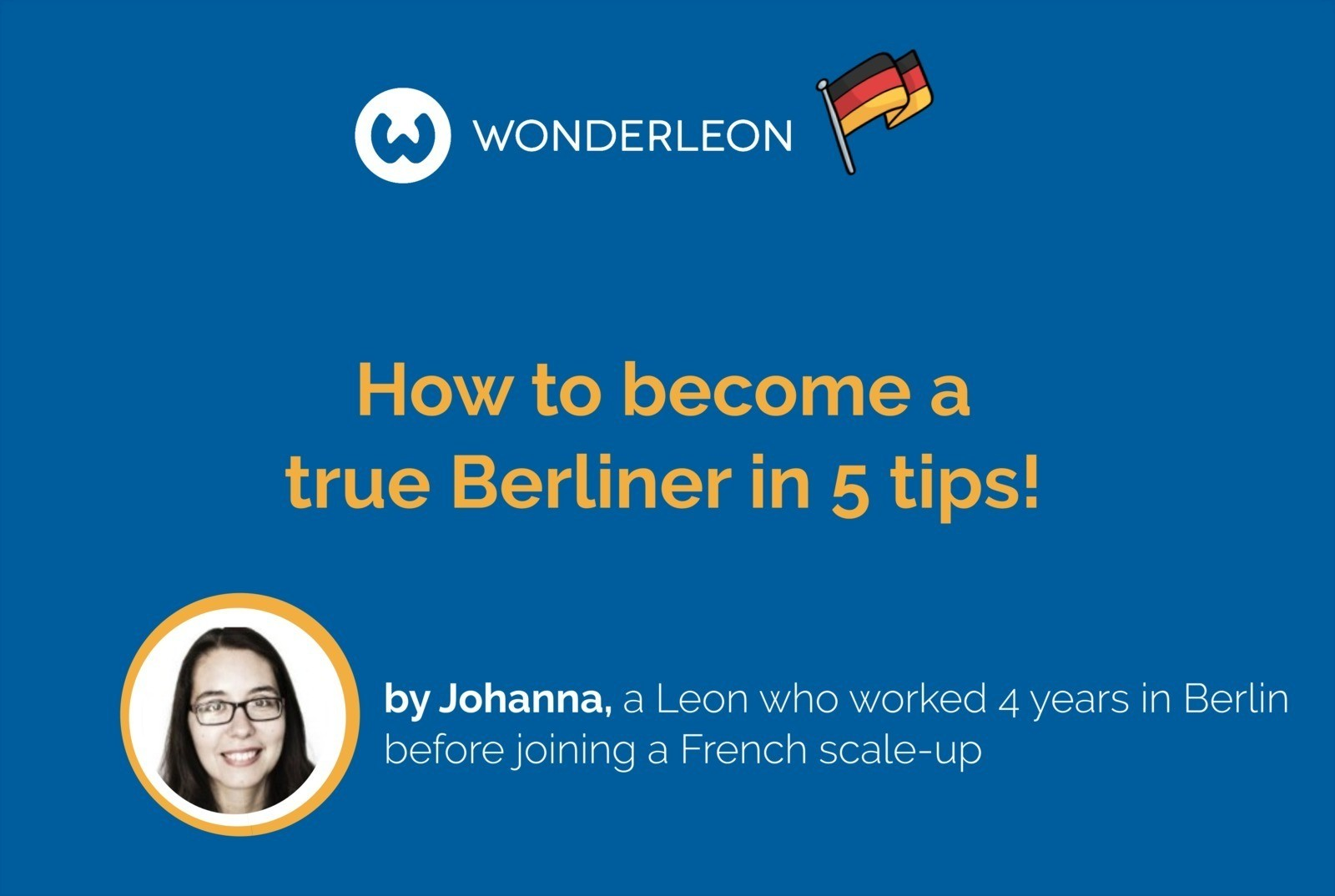 How to become a true Berliner?